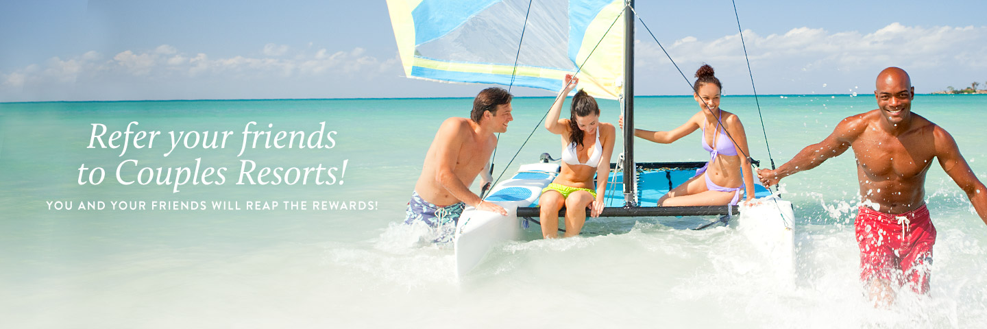 Couples Resorts Referral Program
