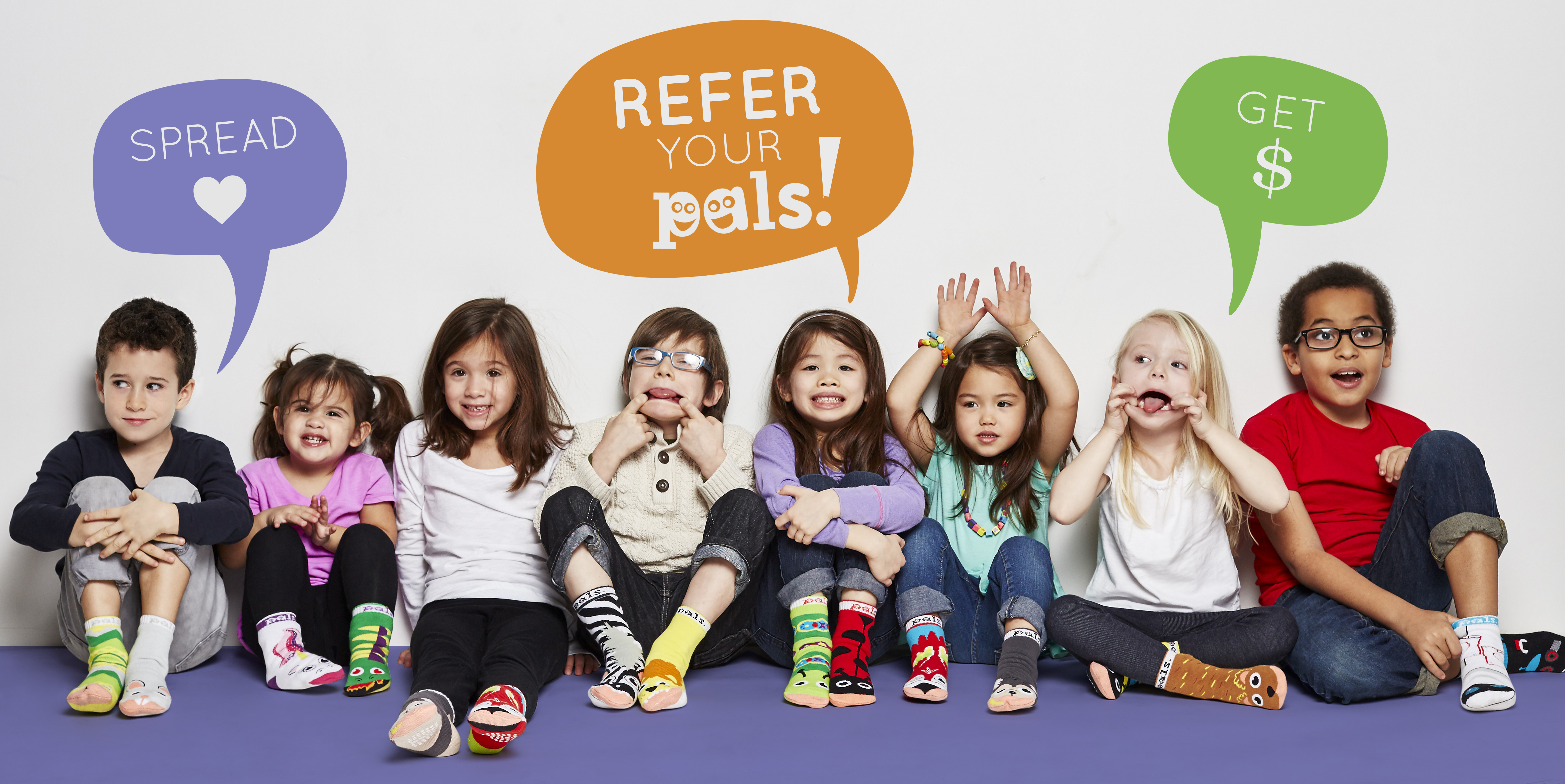 Pals Socks Referral Program