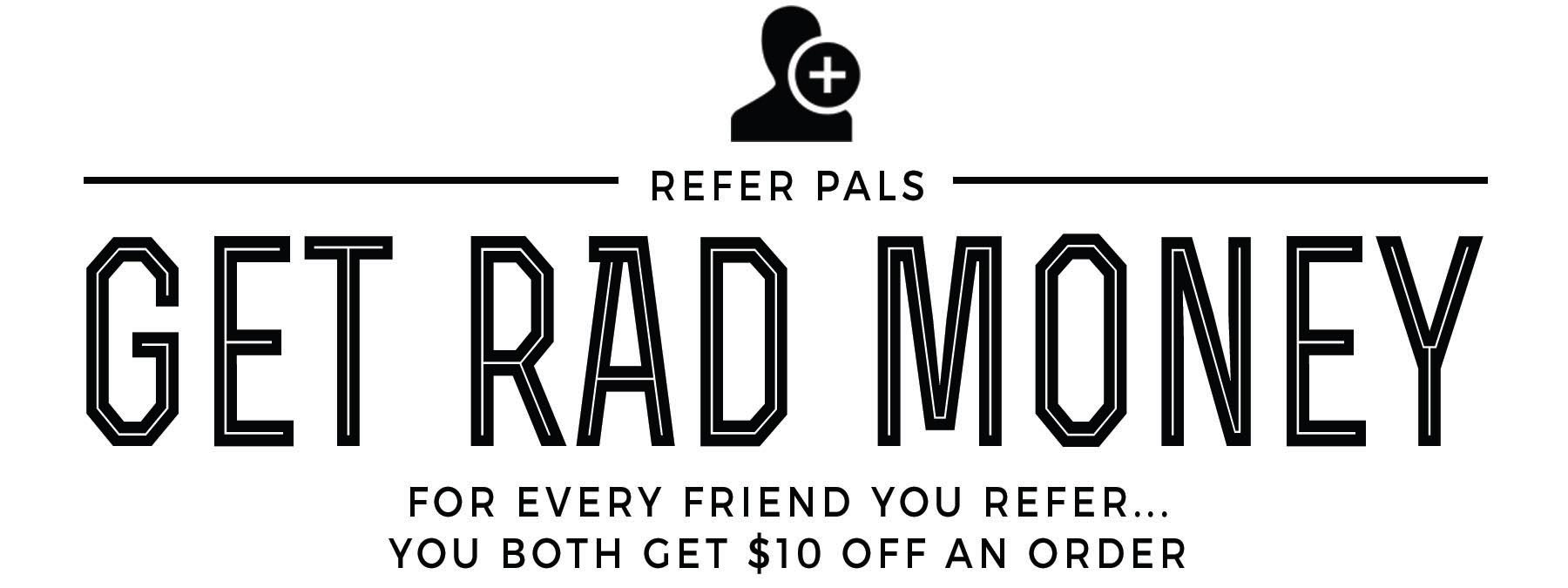 Rad Soap Referral Program